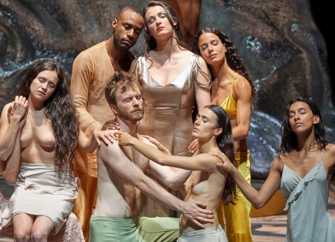 Topless Poppea at Vienna State Opera