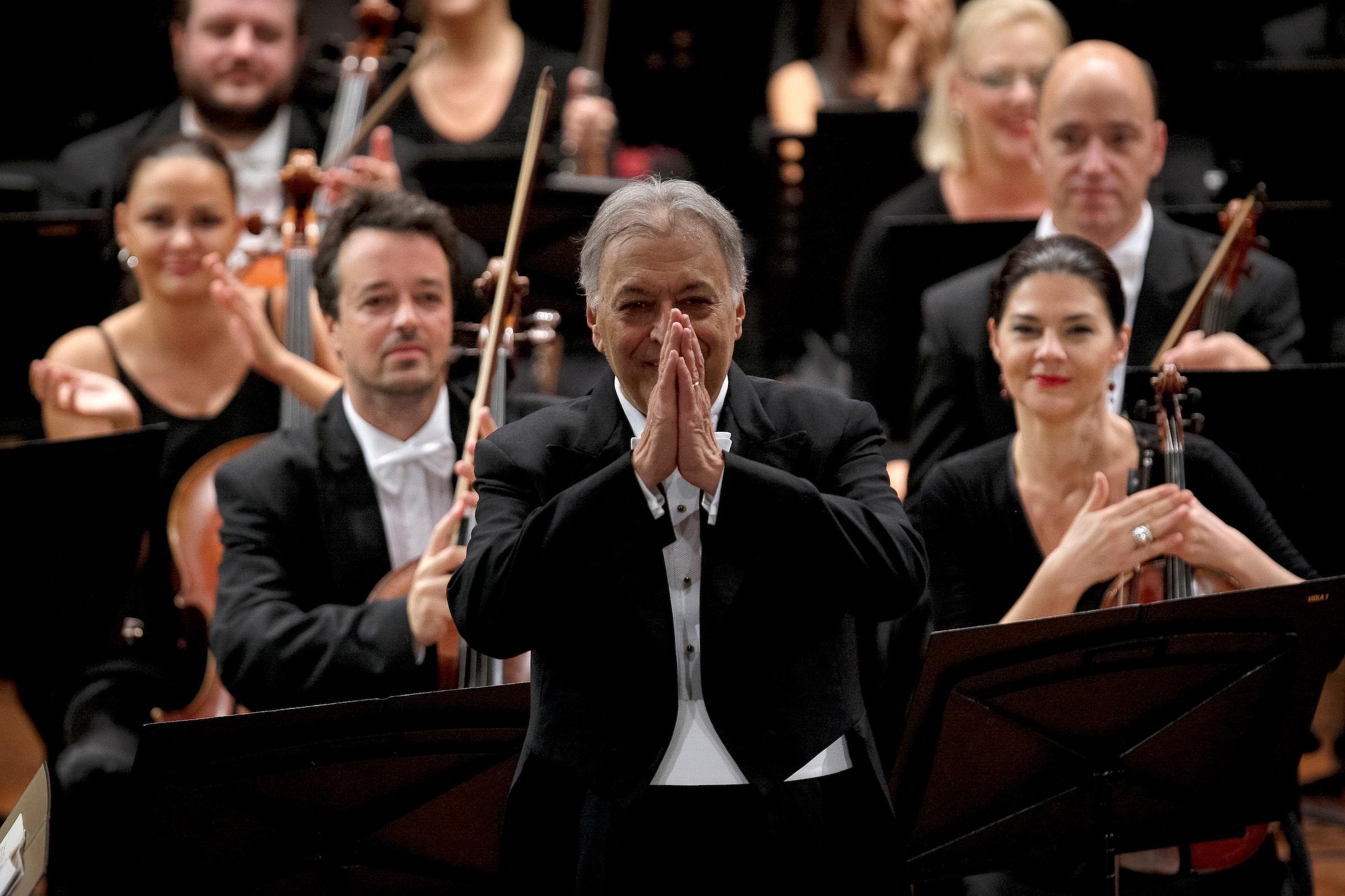 Zubin, 85, revisits his 1958 debut