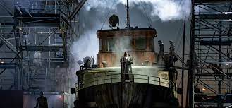 Watch the Flying Dutchman in his own shipyard