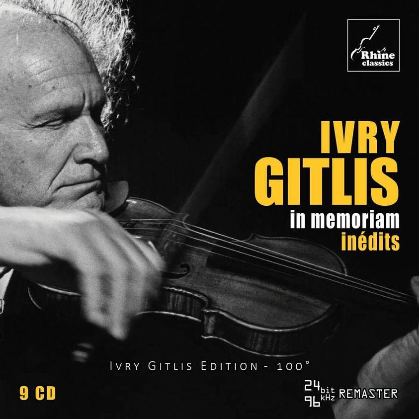 Label news: The unheard Ivry Gitlis