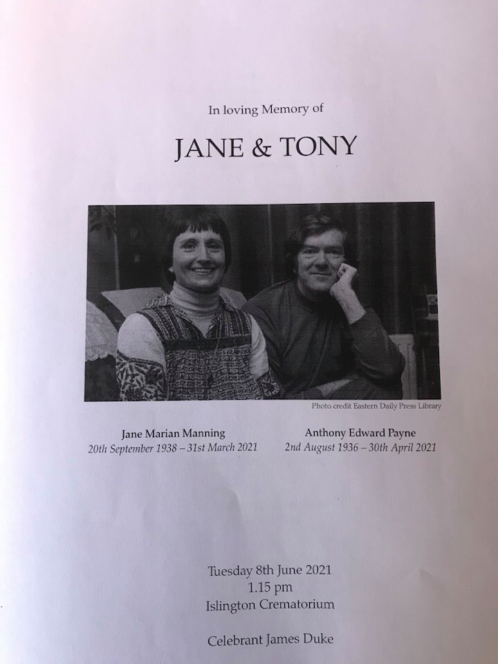 Joint funeral for composer and soprano