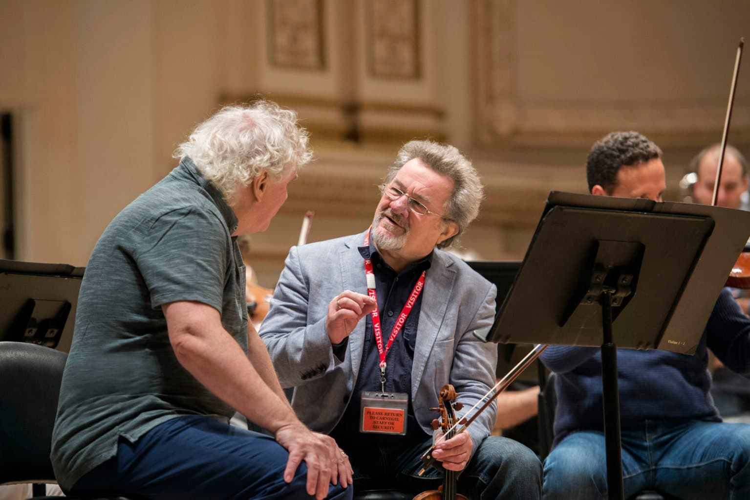 Berlin Phil concertmaster: I said goodbye and I don't want to go back any more.