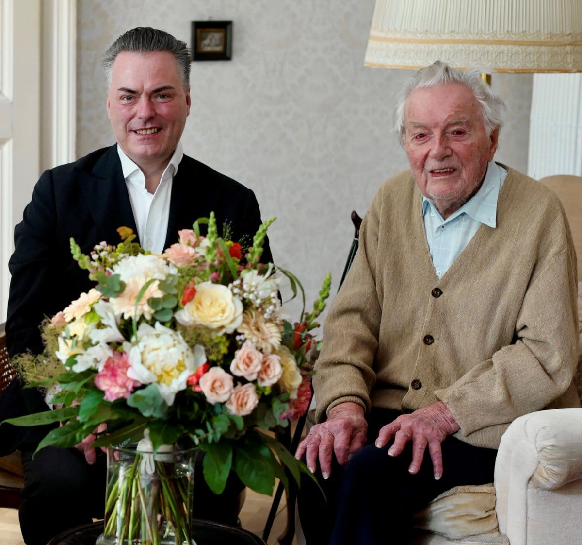 Vienna Philharmonic concertmaster turns 100