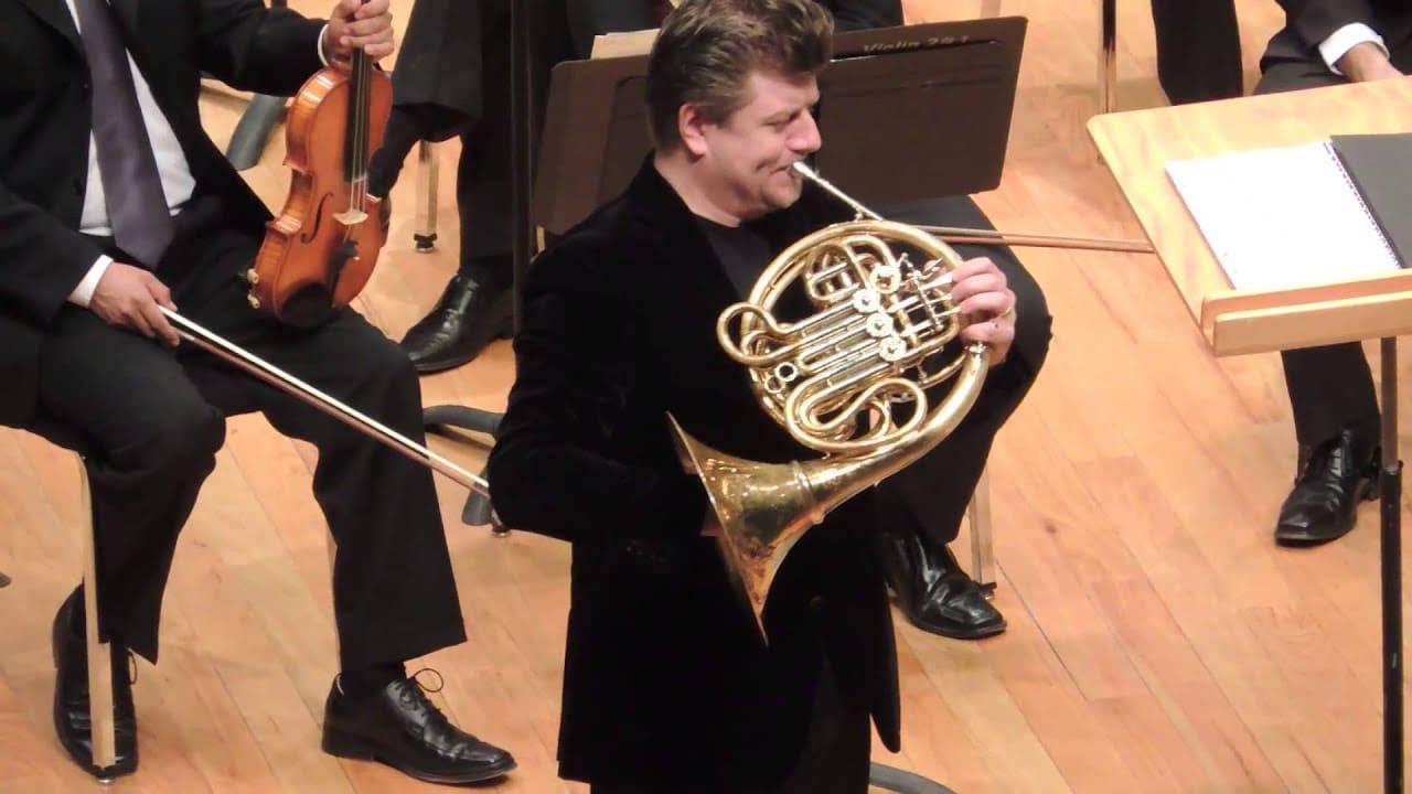 Berlin Phil principal horn is chief conductor in Marienbad