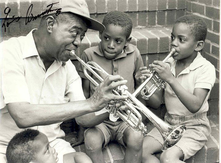 First time I met Satchmo