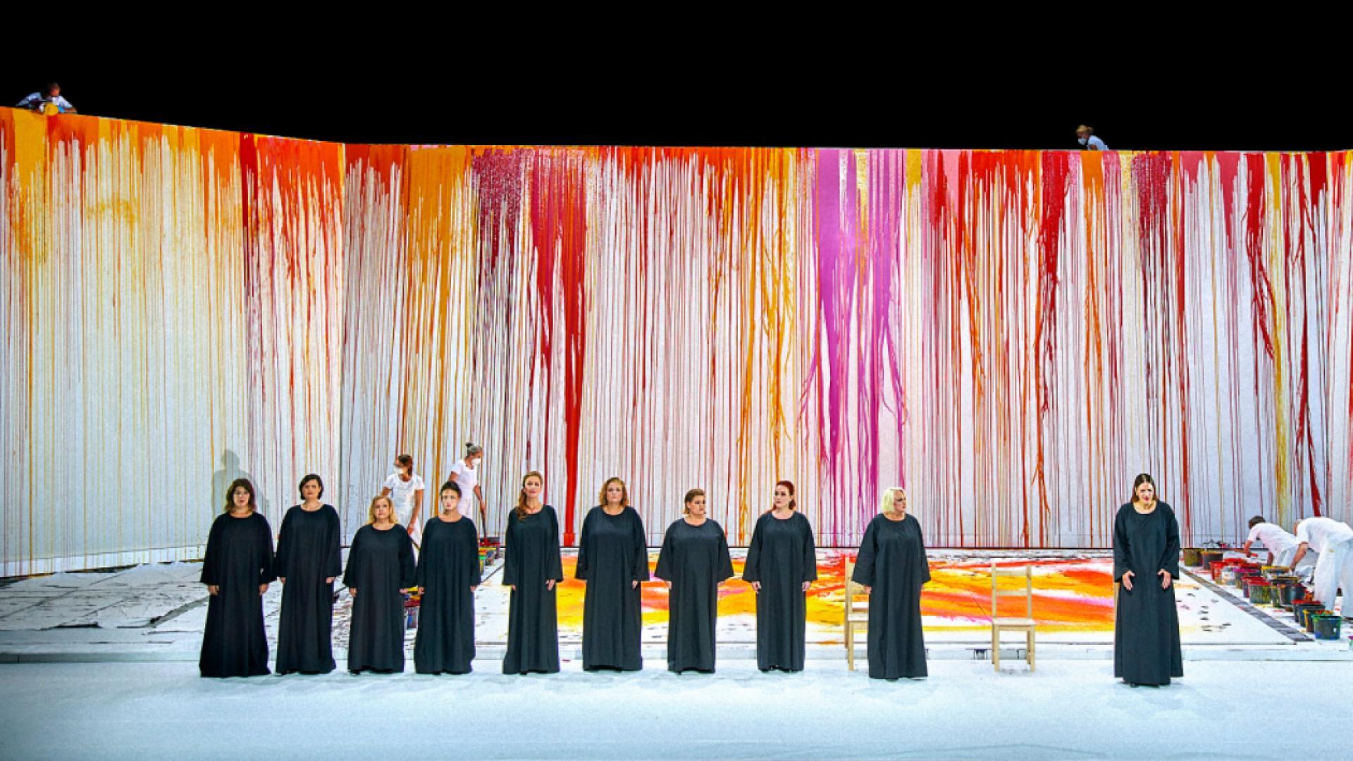 Nitsch and kitsch get booed at Bayreuth