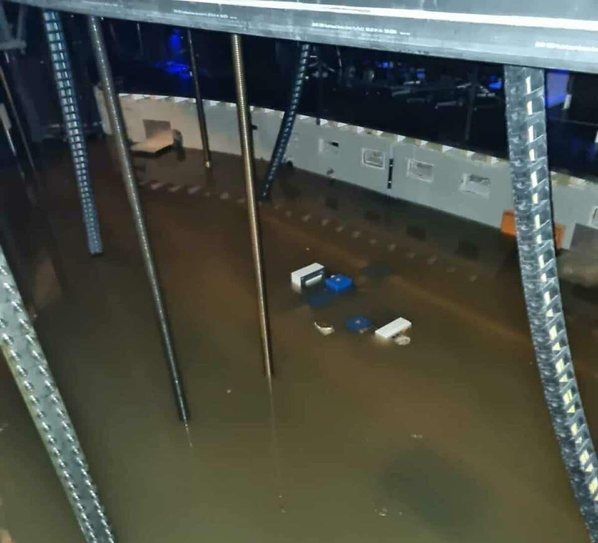 German opera house is under water