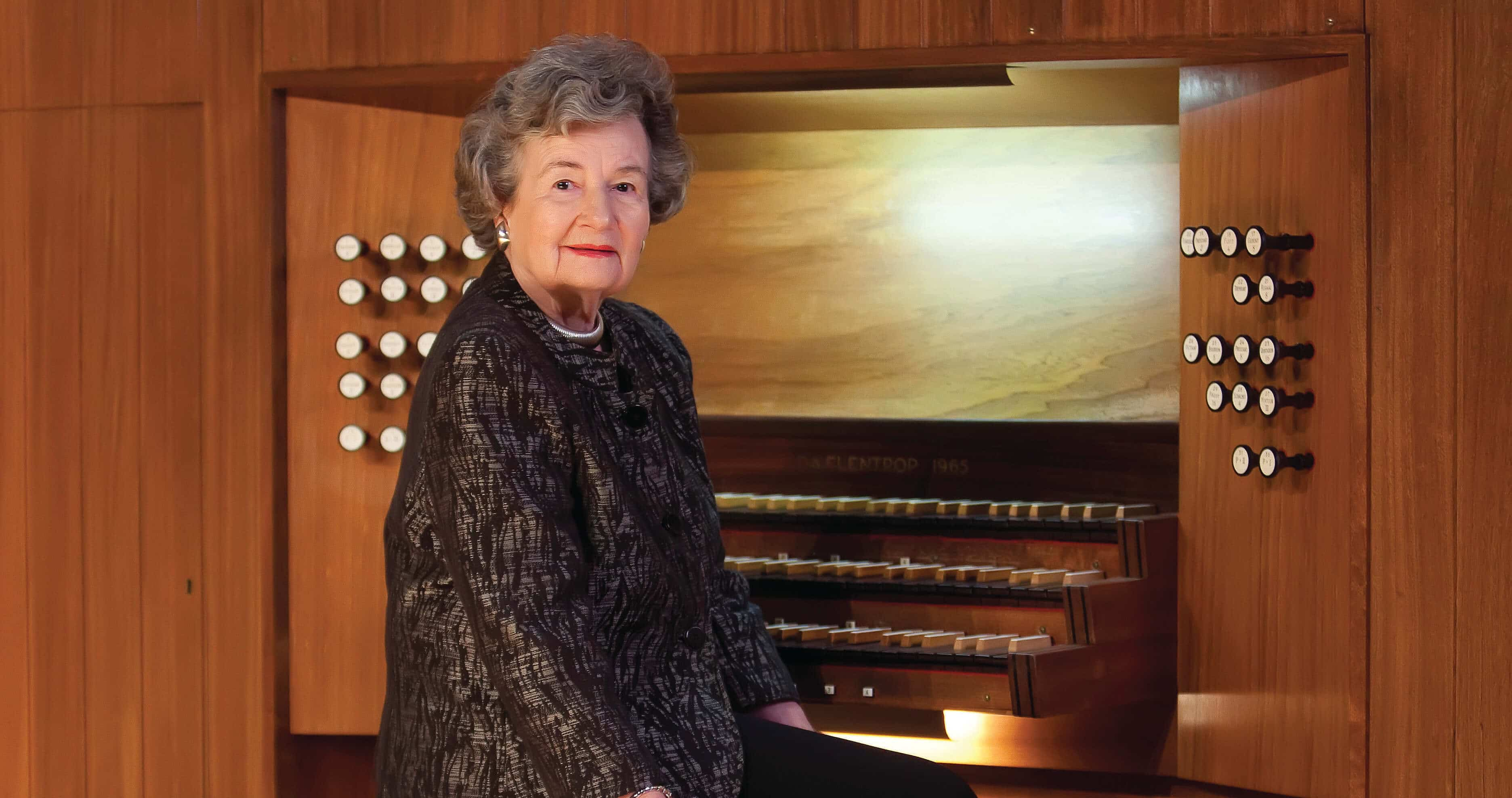 Organist, 100, is still composing new works