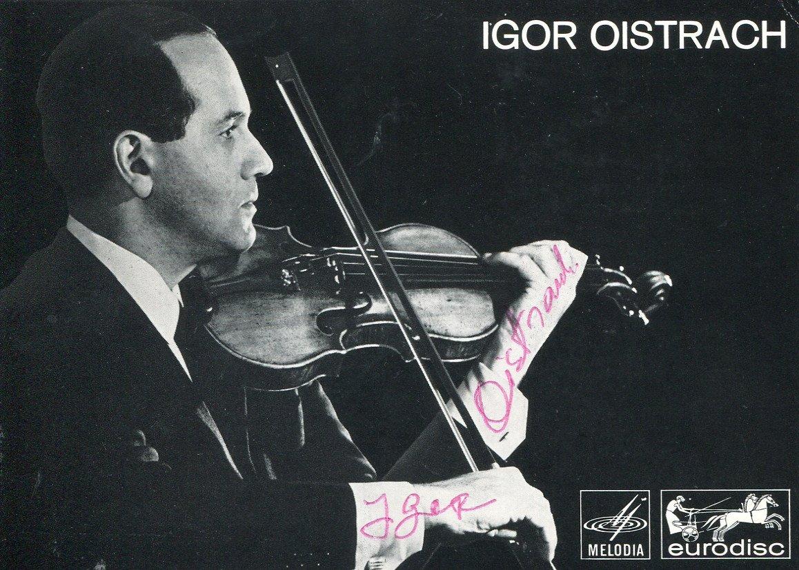 Igor Oistrakh's finest moments