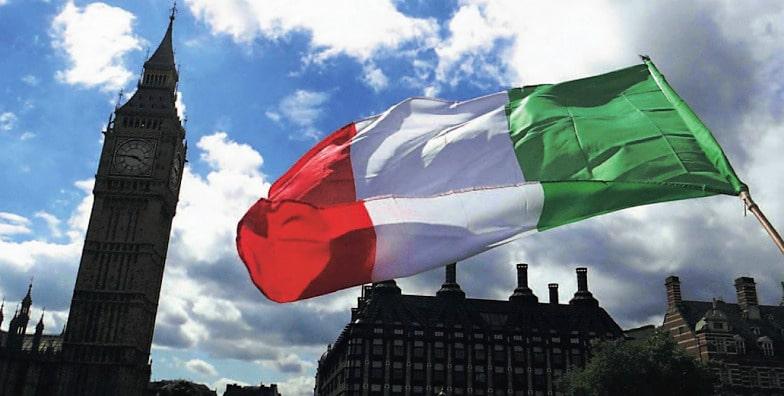 An Italian girl in London? It's an opera