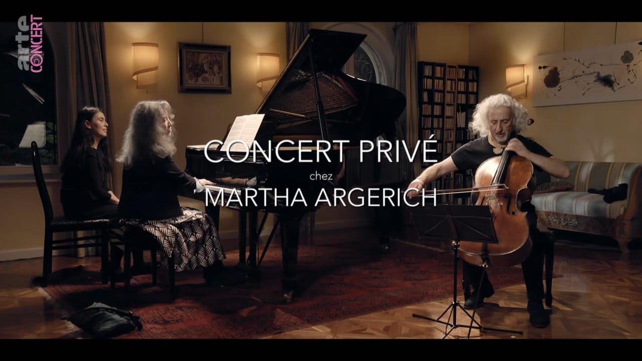 Martha Argerich: the private recital