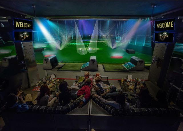Watch Rheingold at a golf course with snacks and drinks