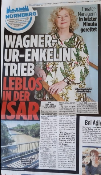 Reports: Wagner heir is pulled lifeless from river
