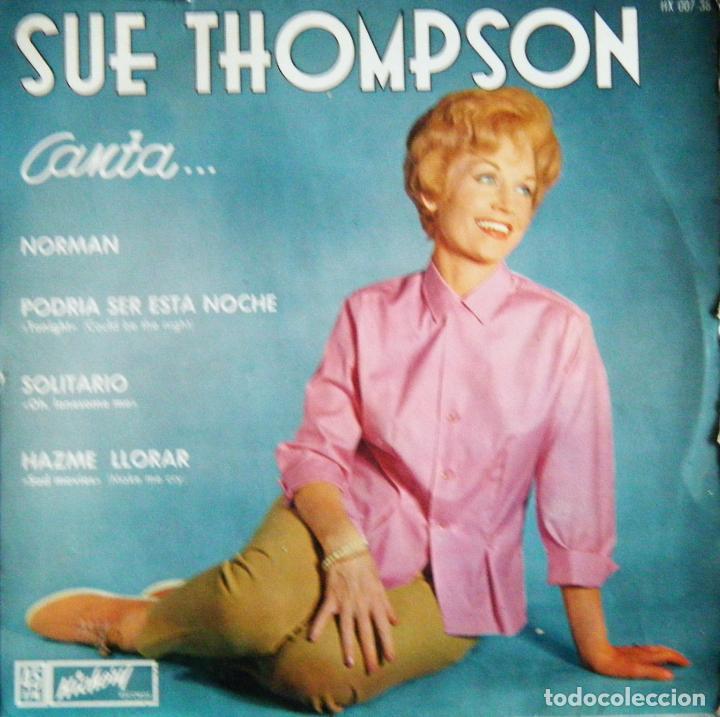 Rest easy, Sue Thompson
