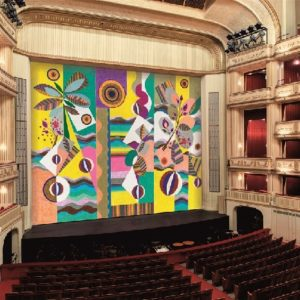 The ghastliness of Vienna Opera's new curtain